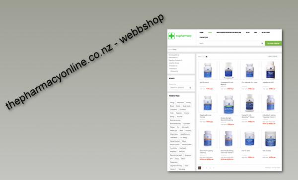 pharmacyonline webbshop